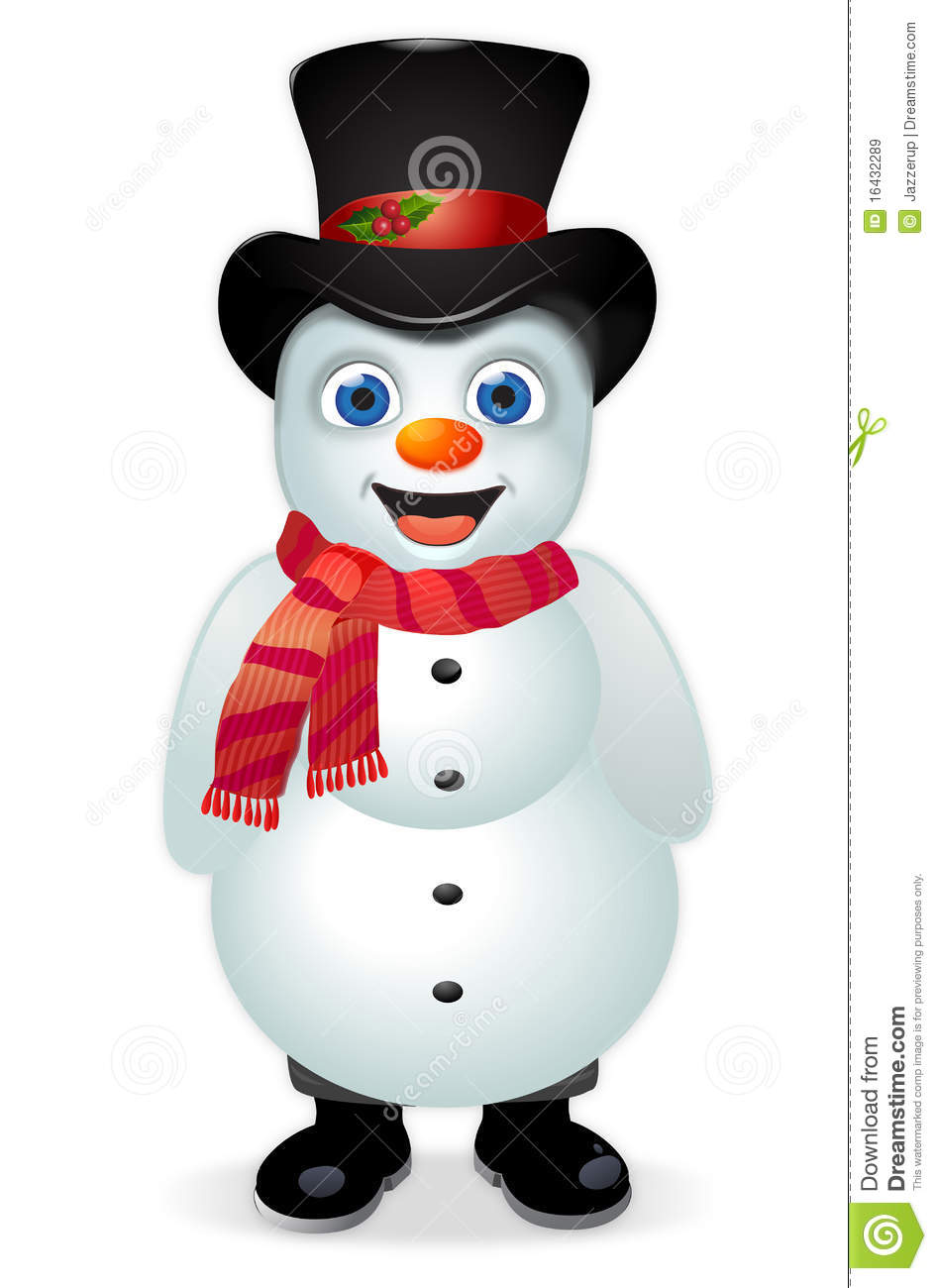 Frosty The Snowman Royalty Free Stock Images.