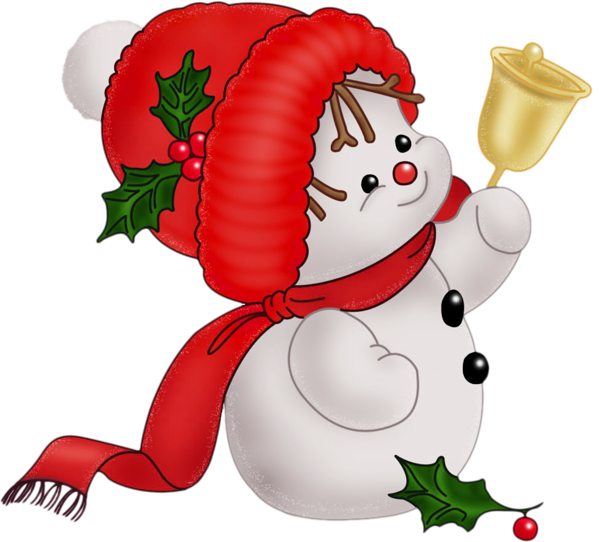 Cute snowman ….