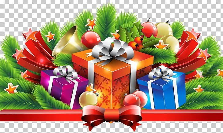 Christmas Gifts Decor PNG, Clipart, Christmas, Christmas.