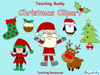 Christmas Clipart (95 high resolution images).