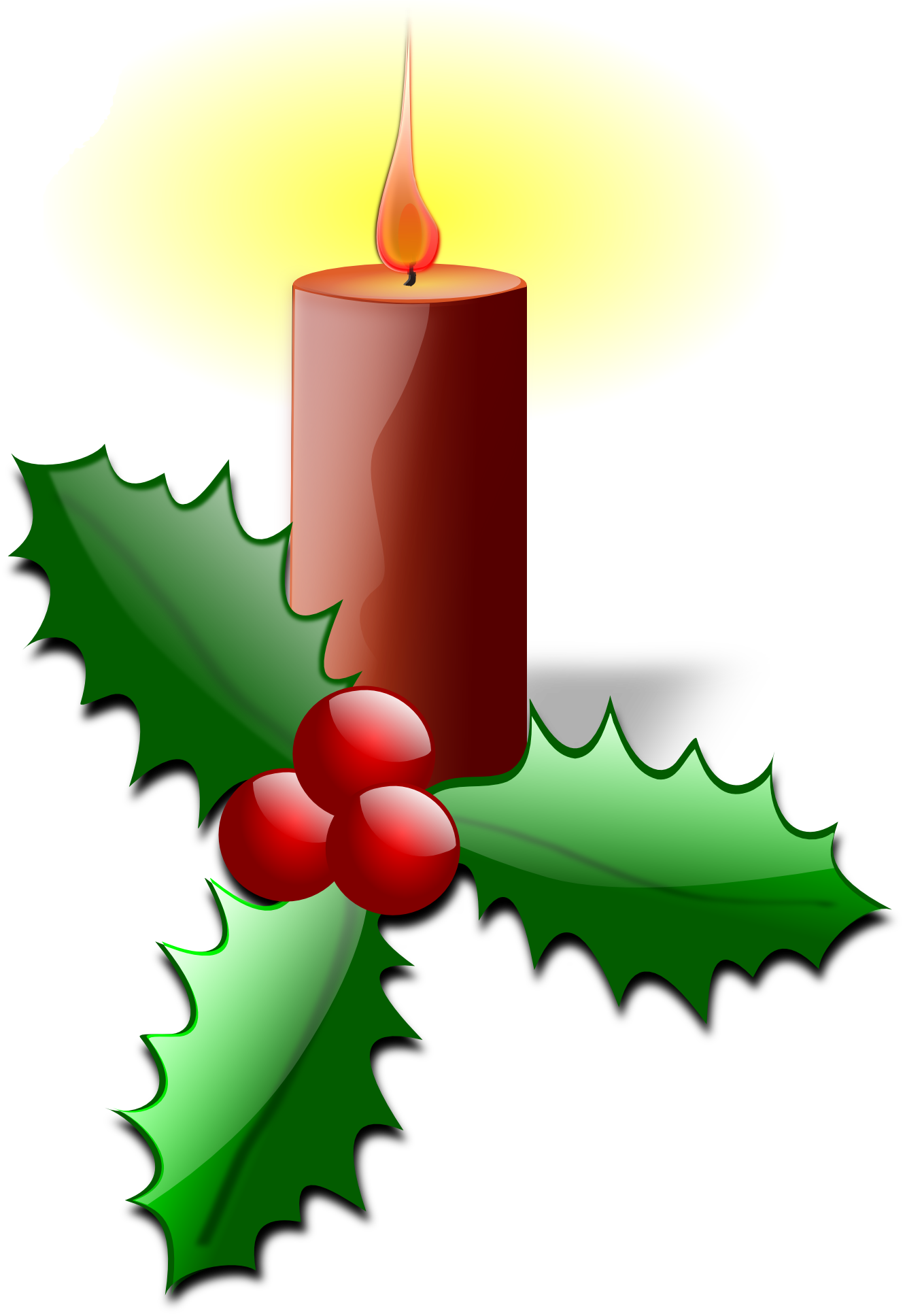 Free christmas clip art holly free clipart images 3.