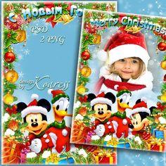 Disney Christmas Clipart.