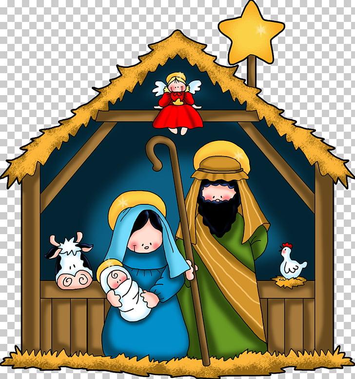 Christmas and holiday season Nativity of Jesus Manger.