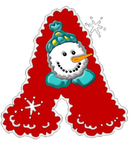 Christmas Clipart Letters.