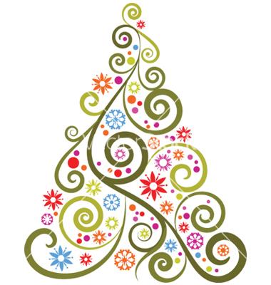 Christmas Clipart Modern.