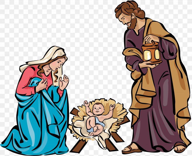 Nativity Scene Nativity Of Jesus Christmas Free Content Clip.