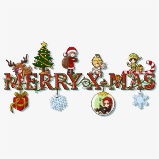 Online Anime Merry Christmas Clipart, Anime Collection.