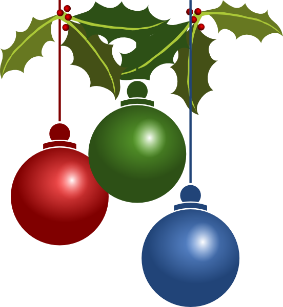 Christmas clipart decoration, Christmas decoration.