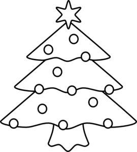 Free Christmas Outline Cliparts, Download Free Clip Art.