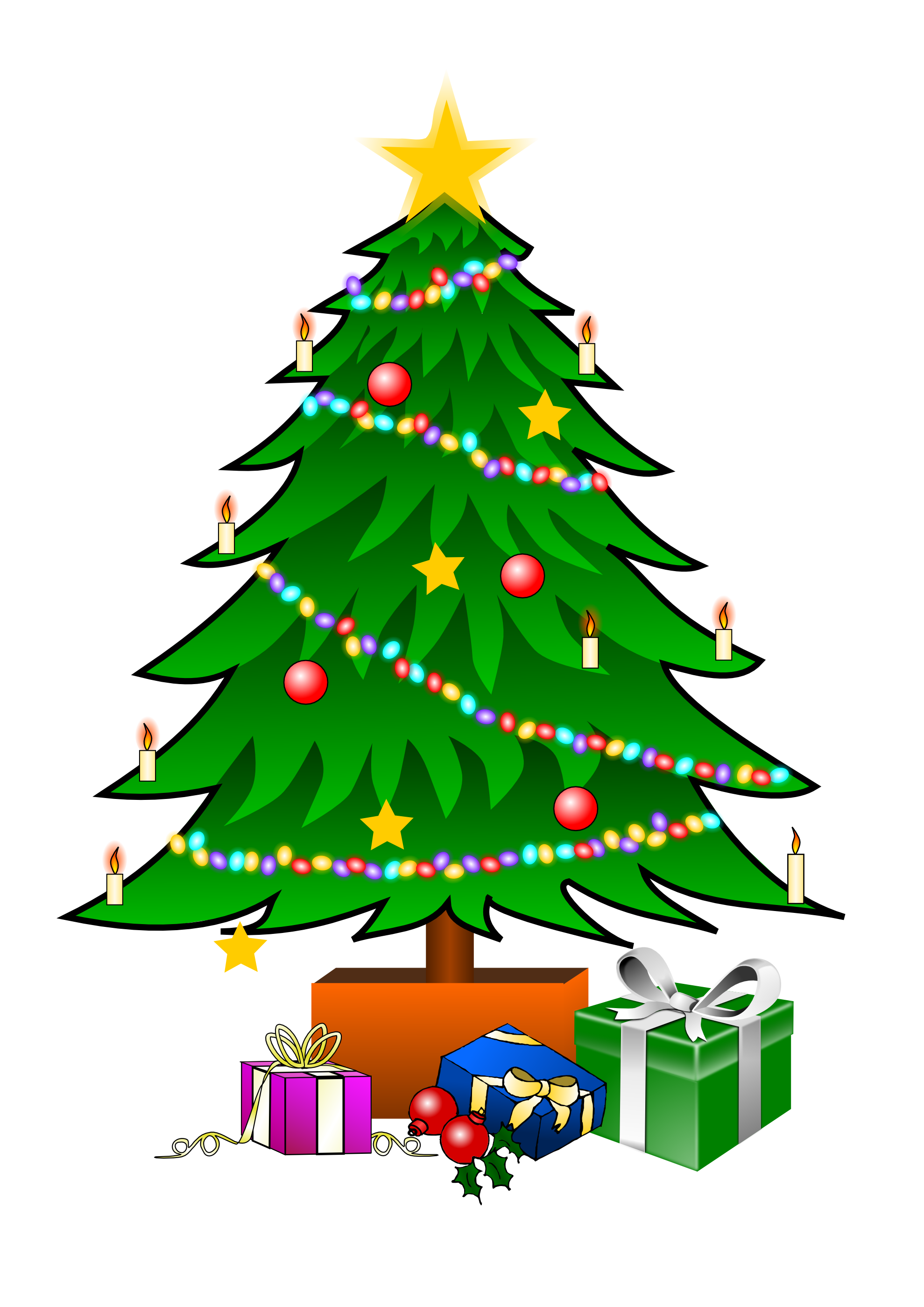 Christmas Tree Clip Art Png.