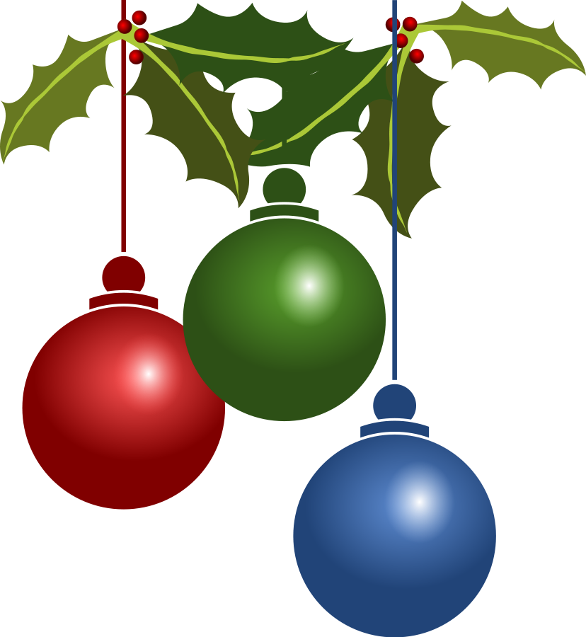 free christmas png clipart #8