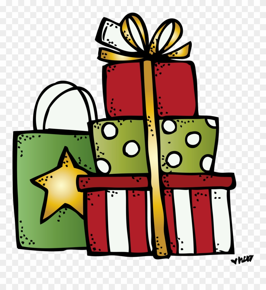 Image Result For Melonheadz Presents Christmas Clipart.