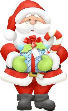 Christmas Clipart Santa.