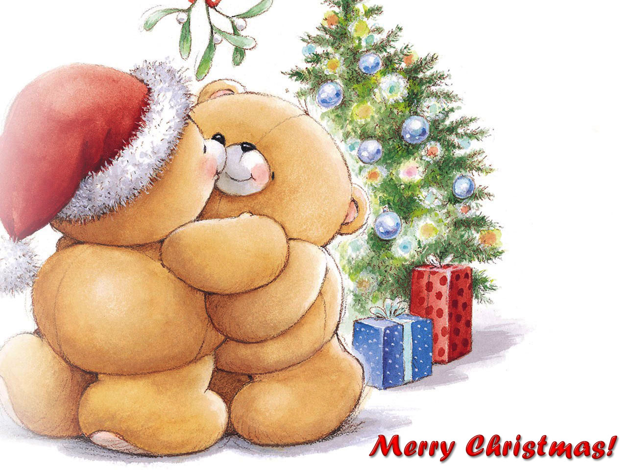 Merry Christmas greetings hd wallpapers and desktop background.