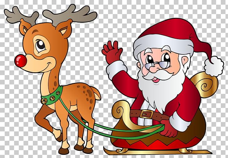 Santa Claus\'s reindeer Santa Claus\'s reindeer Christmas.