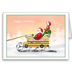 School Bus Clipart Christmas.