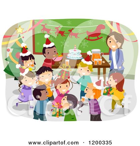 Free School Christmas Clipart.