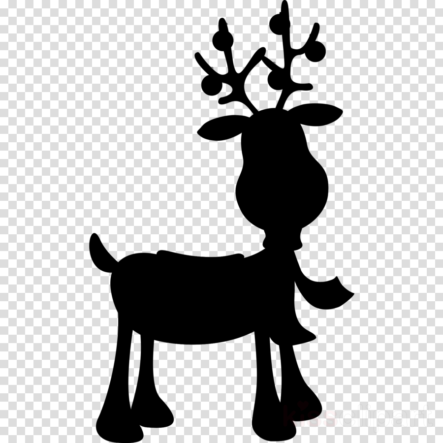 Christmas Ornament Silhouette clipart.