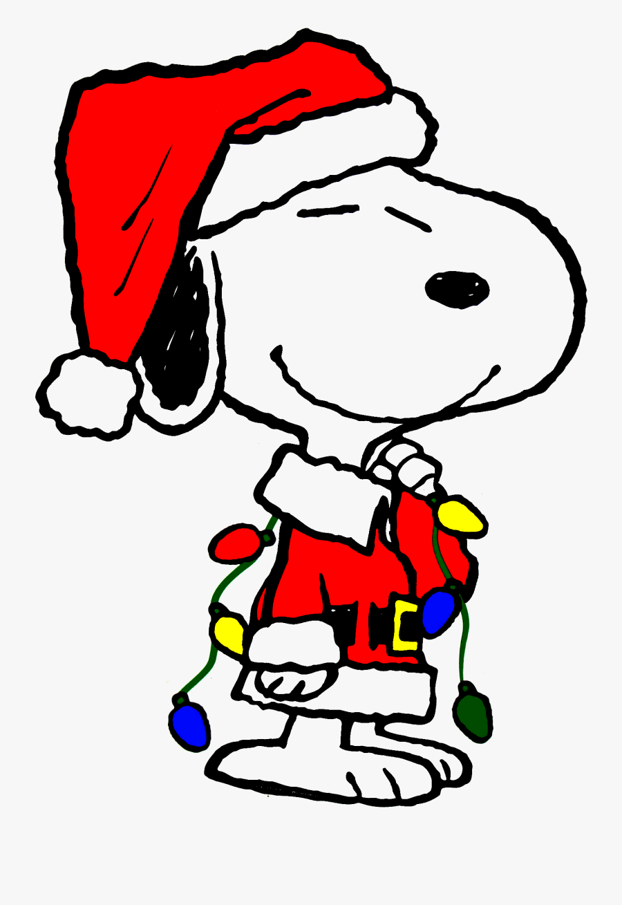 Christmas Clipart Snoopy.