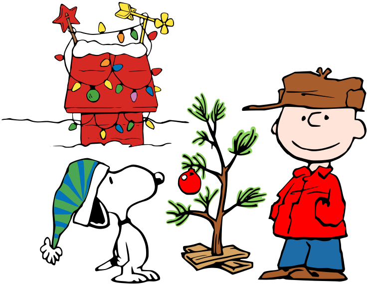 charlie brown christmas clipart.