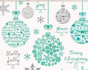 Items similar to Christmas clipart, Christmas quotes, Christmas.