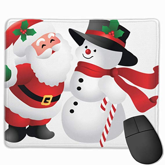 Amazon.com: Smooth Mouse Pad Cute Christmas Clipart Snowman.