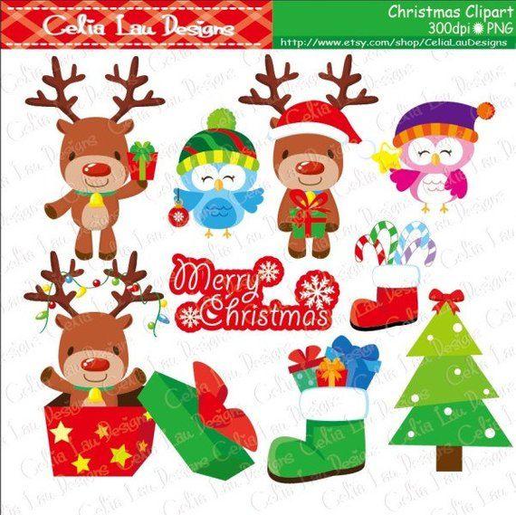 MERRY CHRISTMAS 1 Christmas Clipart, Polar Bear Clipart.