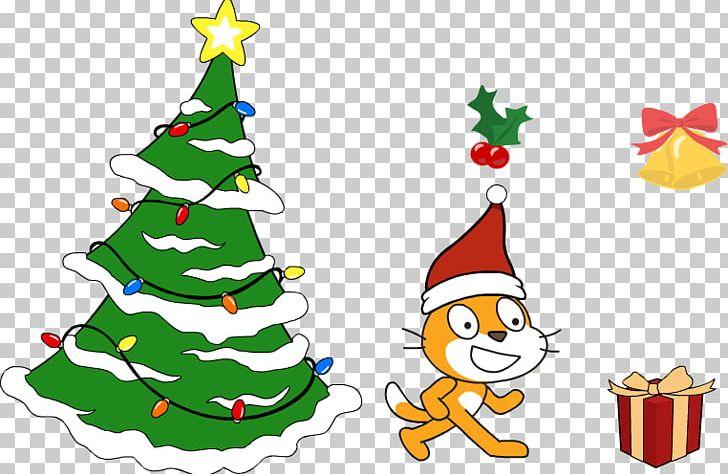 Christmas Tree Scratch Computer Software CoderDojo Makey.