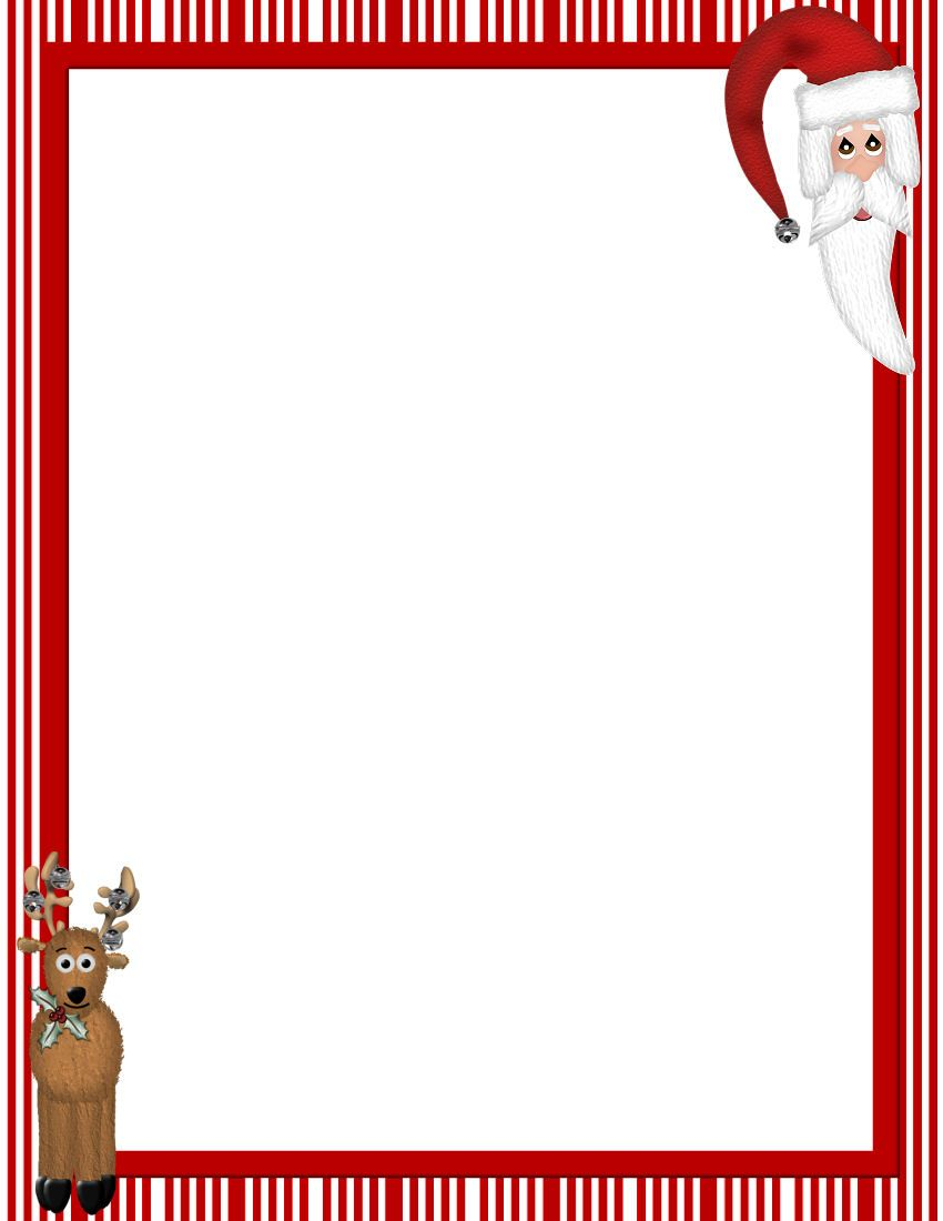 christmas stationery templates free printable.