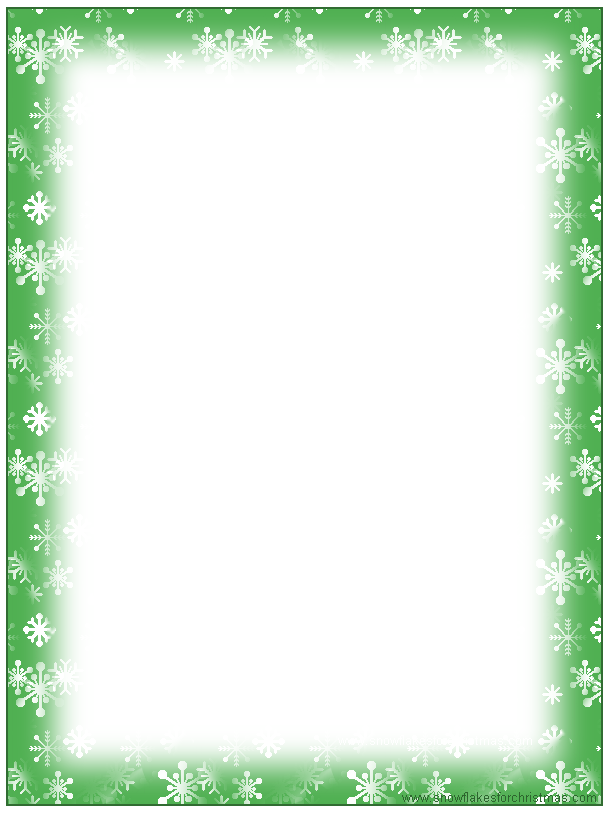 Free Christmas Stationary Templates.