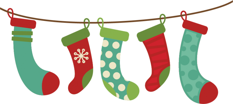 Christmas Stocking Clipart Images.