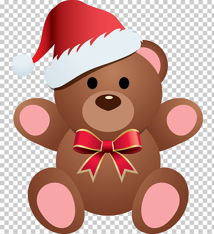 Teddy bear Christmas , bear PNG clipart.