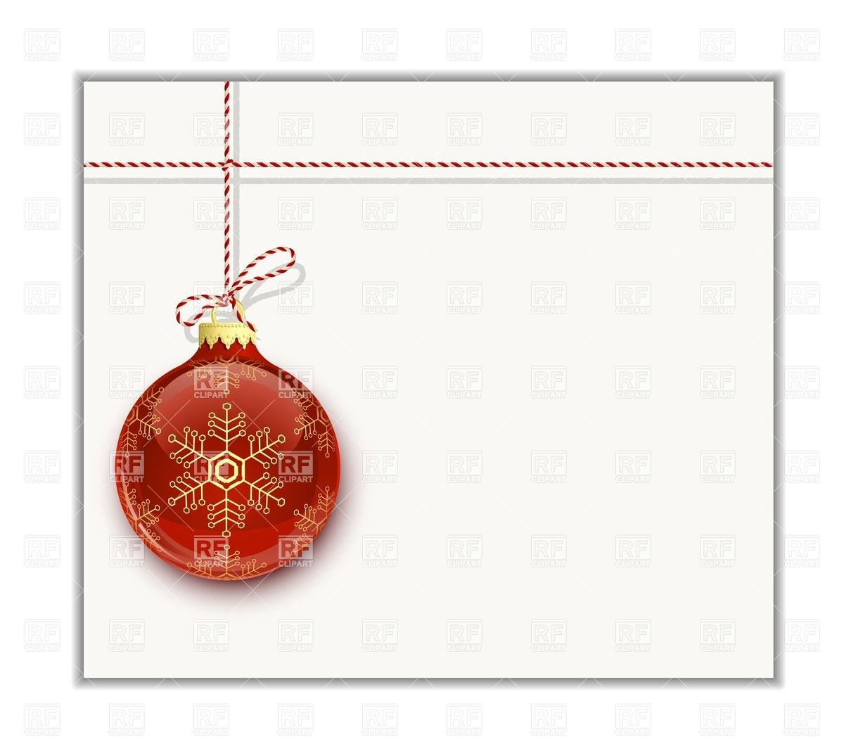 Christmas Card Clipart Templates.