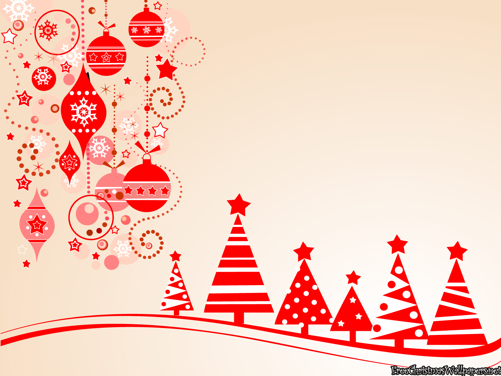 Large print free clipart for christmas.