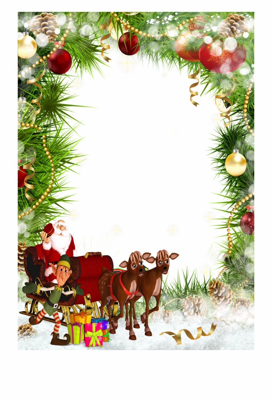 Christmas Frames Clipart.