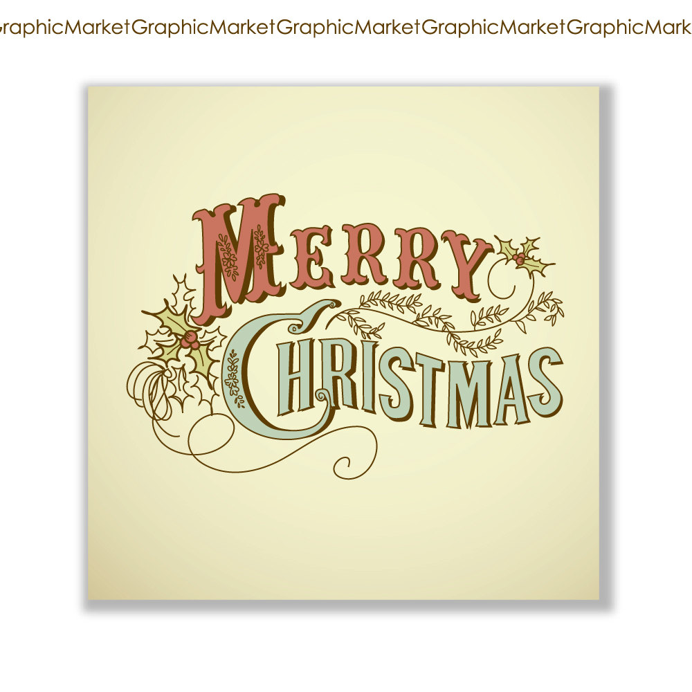 Free Clipart Vintage Christmas Cards.