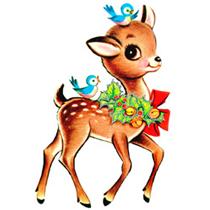 Vintage Christmas Clip Art Images Free.