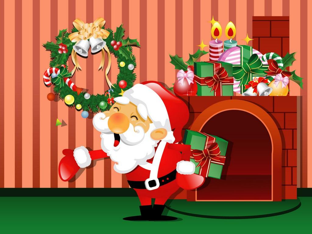 Merry Christmas Santa Clipart#2206765.