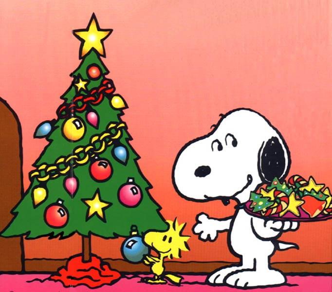Snoopy Christmas Clipart.