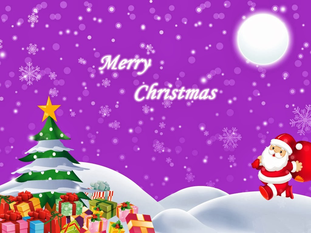 Merry Christmas Greetings HD Wallpapers.