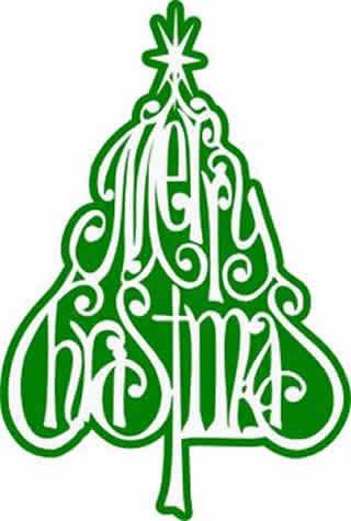 Merry christmas words christmas clipart word christmas wood.