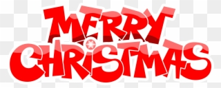 Free PNG Merry Christmas Clipart Words Clip Art Download.