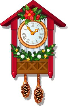 Free Christmas Clock Cliparts, Download Free Clip Art, Free.