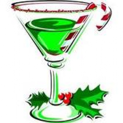 Free Christmas Drinks Clipart.