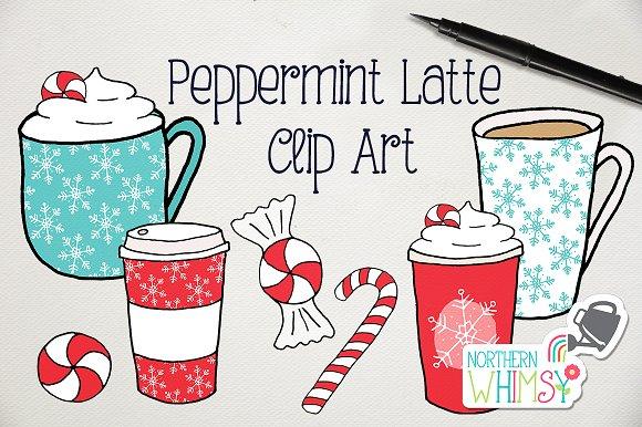 Christmas Coffee Illustrations ~ Illustrations ~ Creative Market.