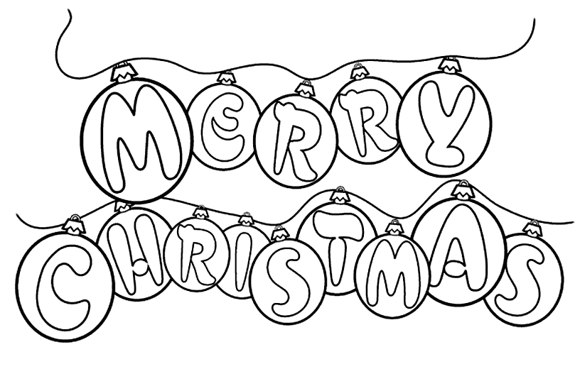 Christmas Clip Art Coloring Pages Christmas Coloring Book Clipart.