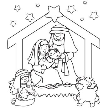 17 Best ideas about Nativity Coloring Pages on Pinterest.