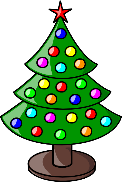 Christmas Colors Clipart.