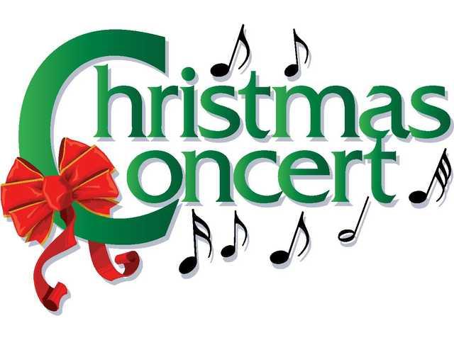 Christmas clip art concert.