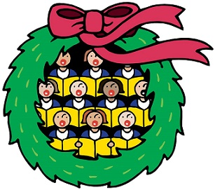 Free Christmas Concert Clipart.